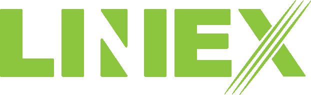 Liniex hvidt logo